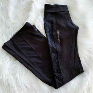 BEBE Embellished Yoga/Work Out Pants